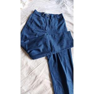Vintage | denim trouser mom jeans